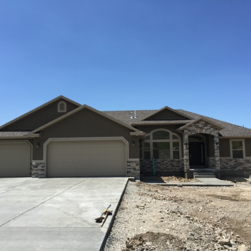 Home with Stucco Exterior