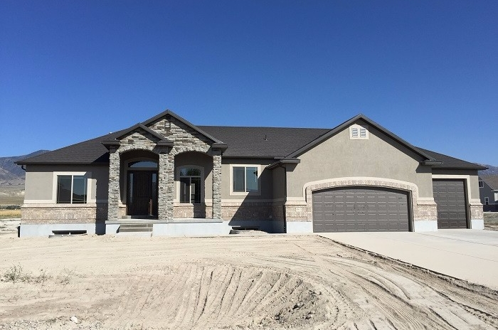 custom home Tooele