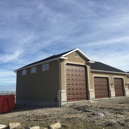new home garages