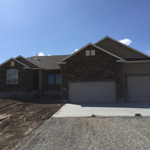 new home construction front