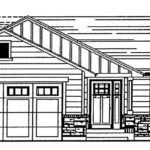 hickman floorplan sketch front
