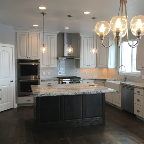 new home construction kitchen