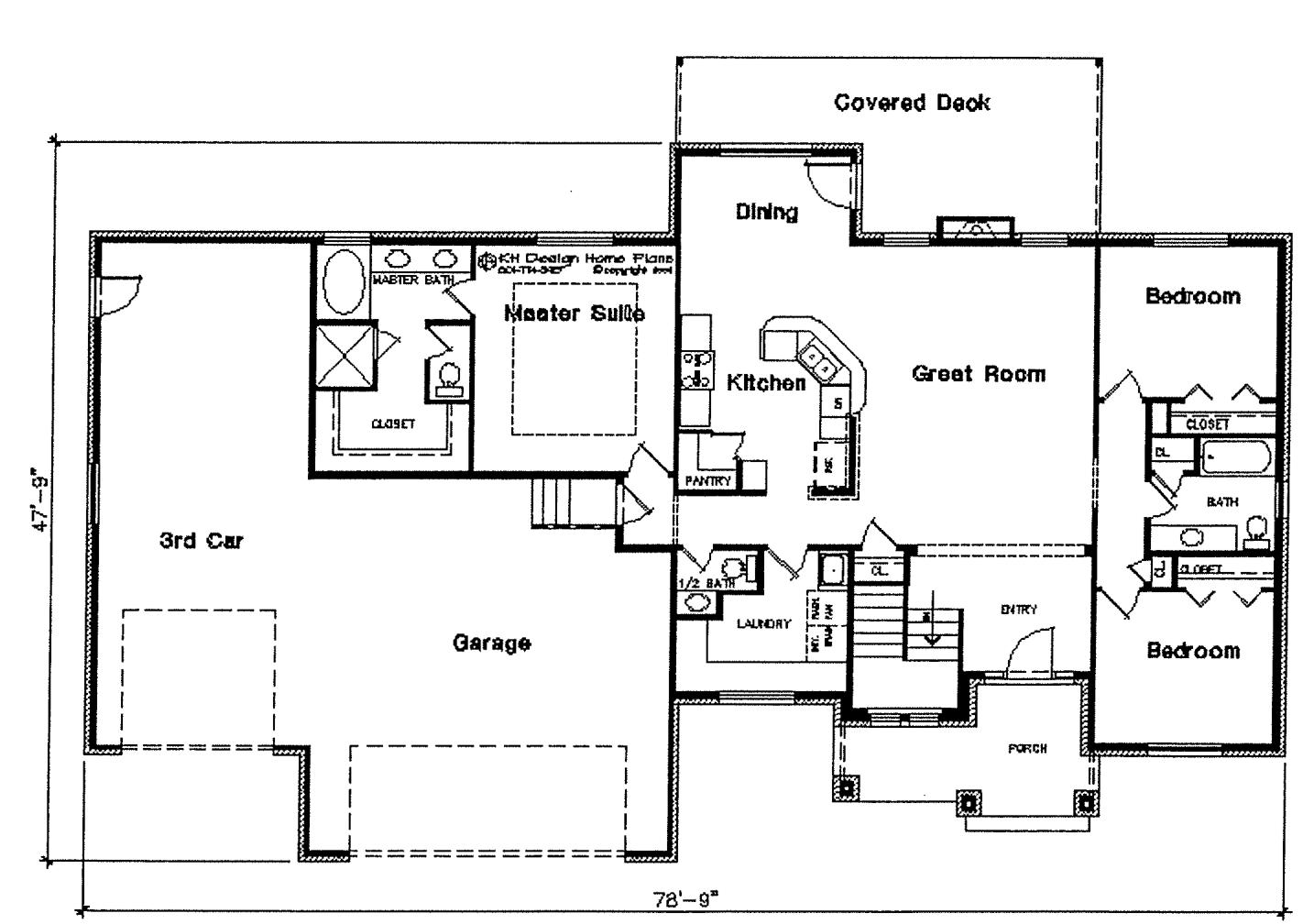 Isabella floor plan