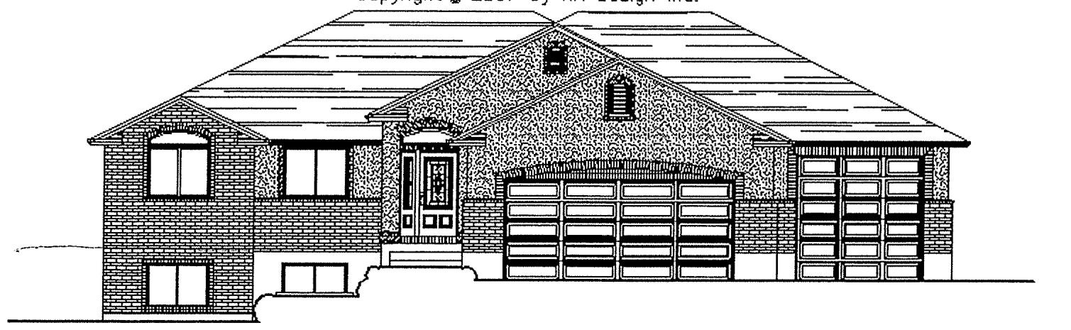 Knudsen floor plan exterior sketch