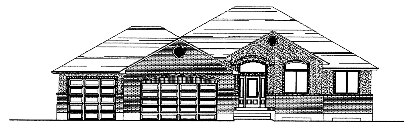 Maria floor plan exterior sketch